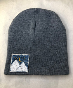 "Blink Blink Beanie - ""MIDNIGHT IN THE MOUNTAINS"""