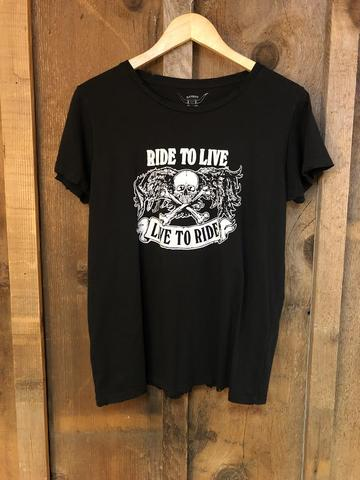 Bandit Brand Women's Tee - Ride to Live