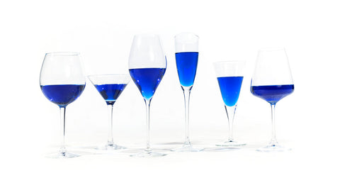 Vino Azul (blue wine)