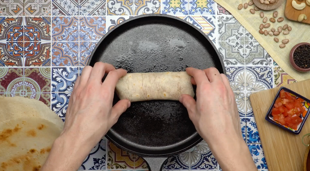 How to Heat & Roll Your Burrito