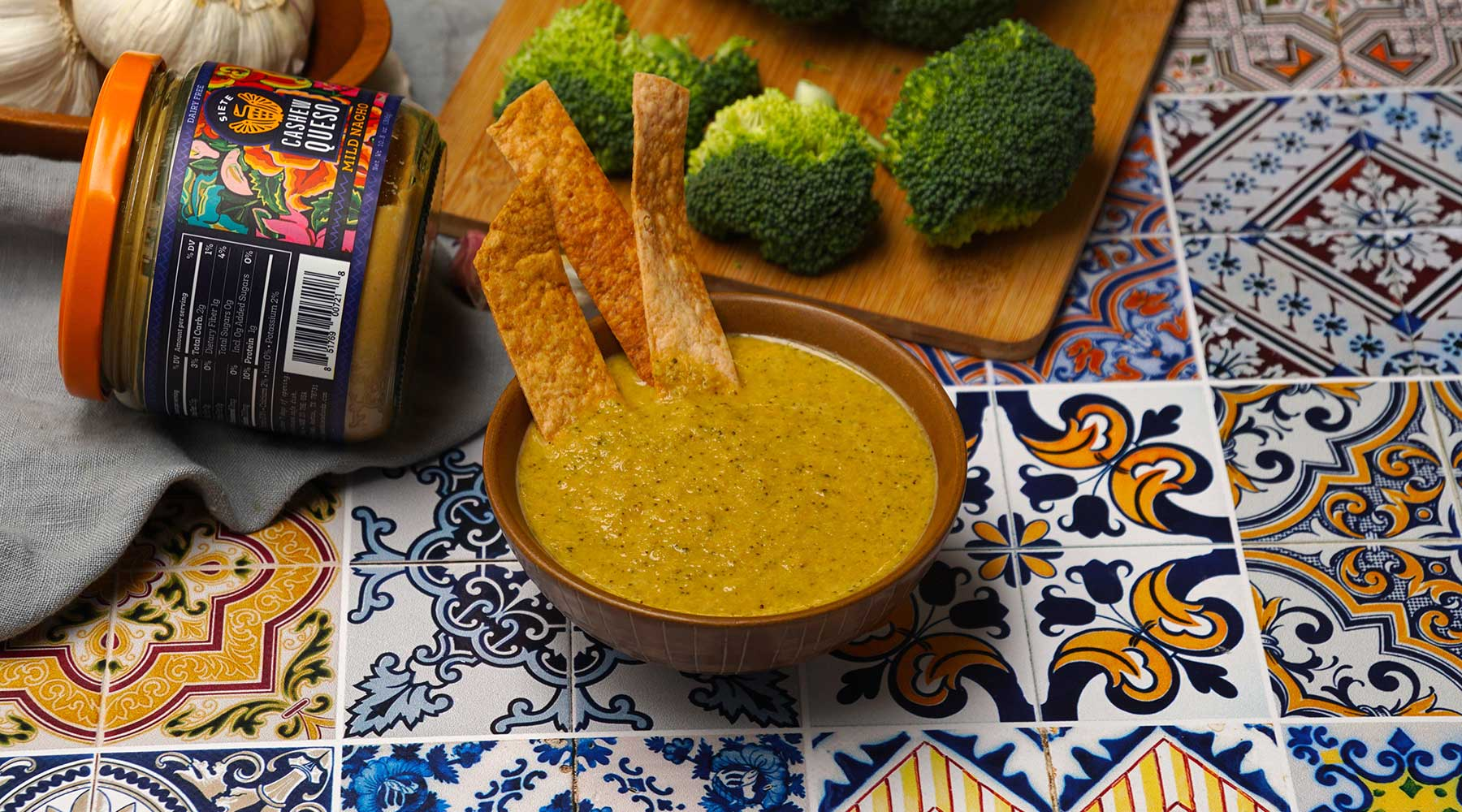 Broccoli & Queso Soup Recipe