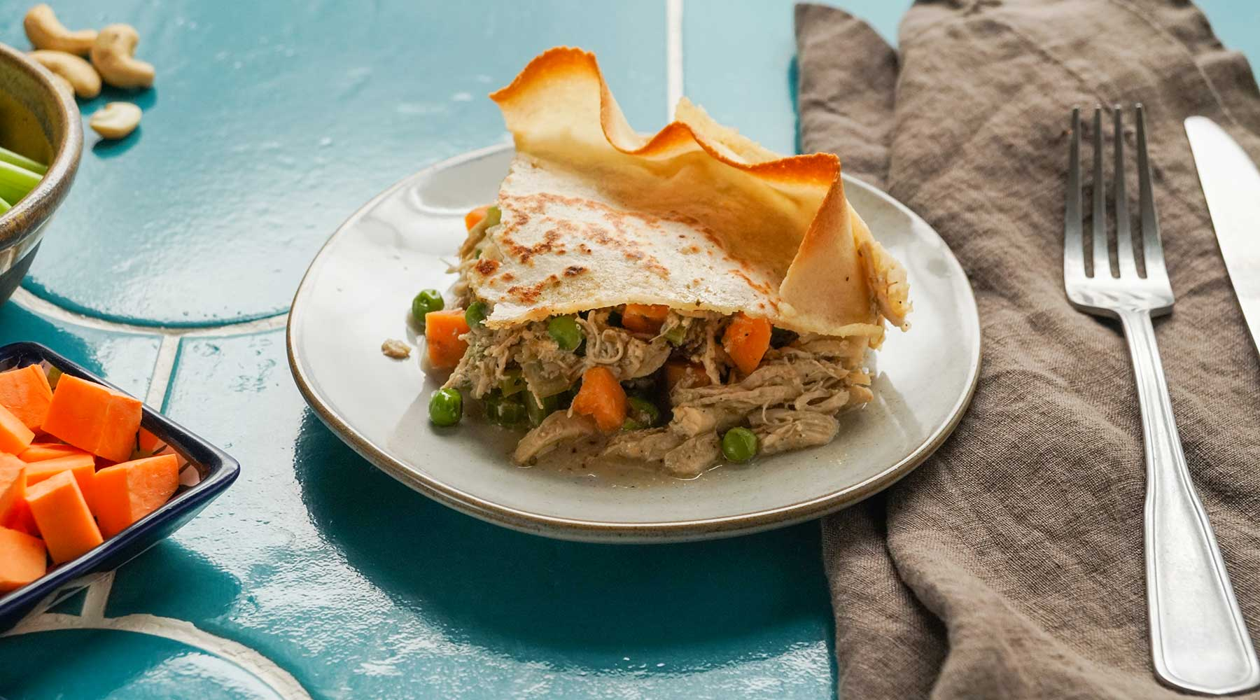 Turkey Burrito Pot Pie