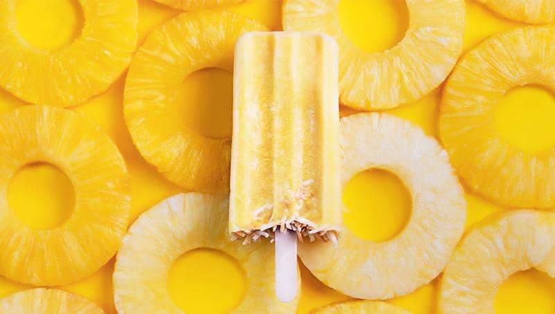 Pineapple Coconut Paleta