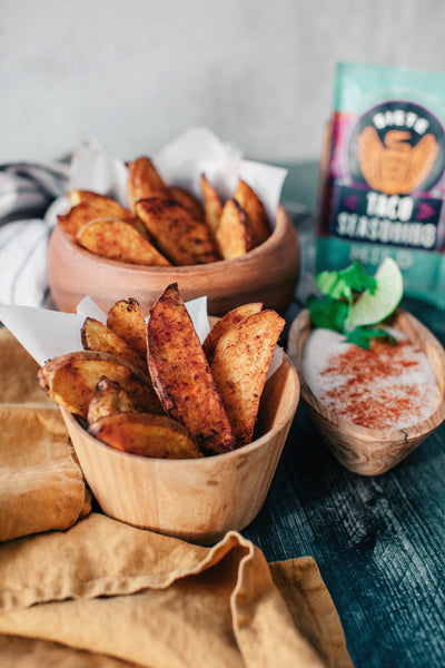 Roasted Potato Wedges Whole30 Recipes by Siete