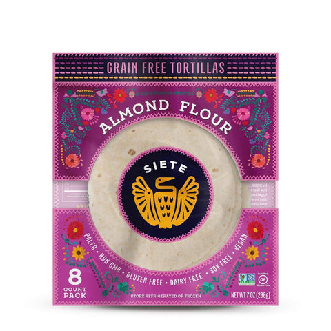 Grain Free Almond Flour Tortillas