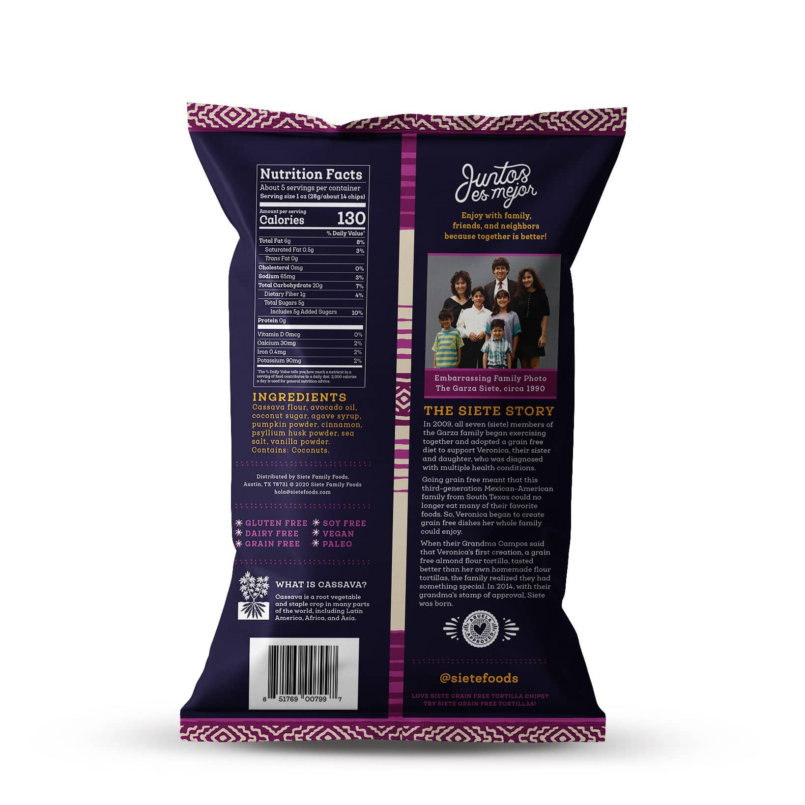 Churros Strips Nutritional Value - 5oz