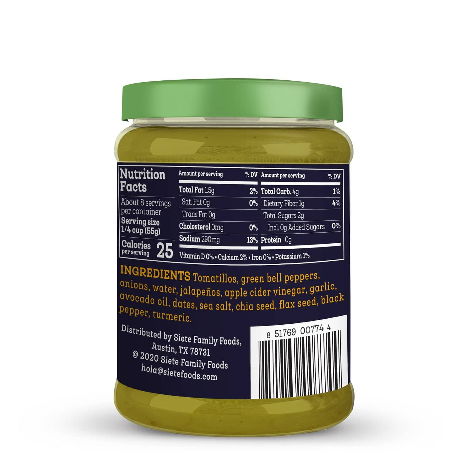 Green Enchilada Sauce - 4 jars