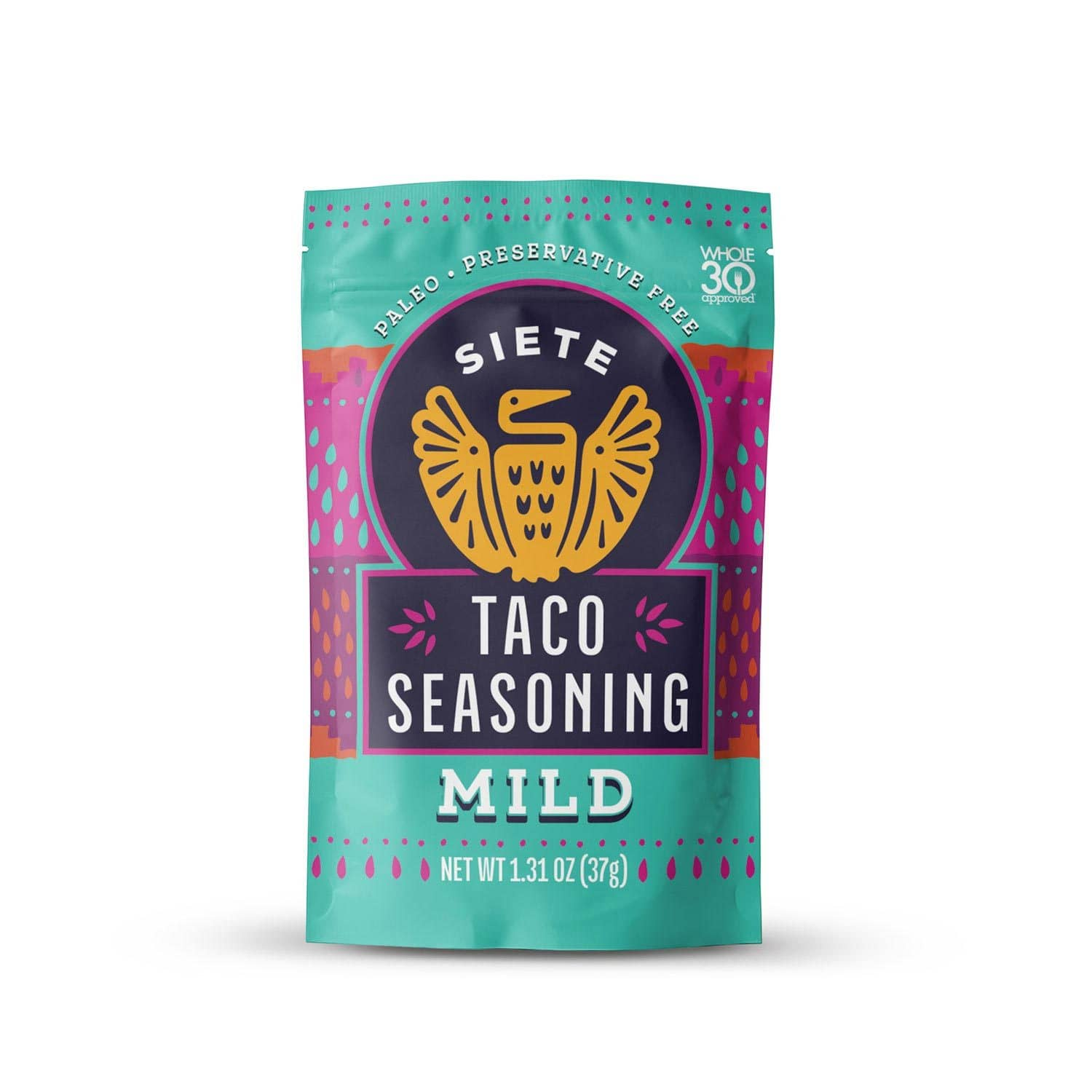 Siete Mild Taco Seasoning Whole30