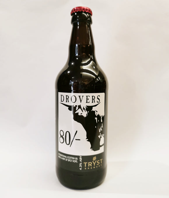 Drovers 80/-  - Tryst