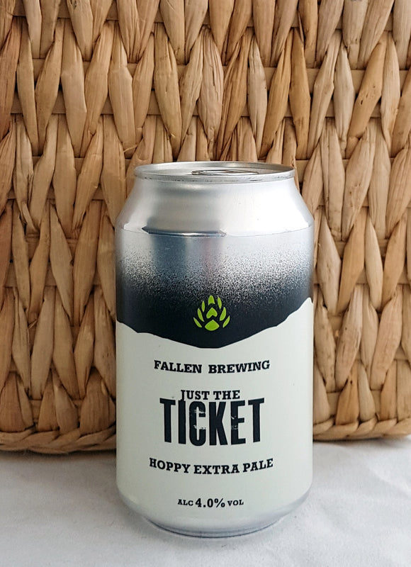 Just The Ticket - Fallen Brewing Company