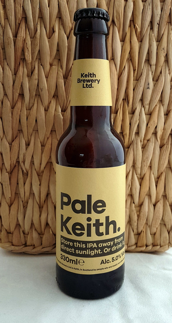 Pale Keith - Keith Brewery