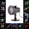 12Patterns RGB Flood Lighting Outdoor Waterproof Led Christmas Lights Projection Lawn Lamp Water