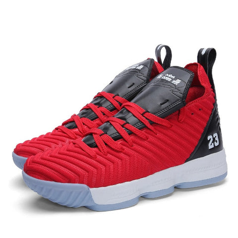 New Basketball Shoes Lebron High-Top Breathable Non-Slip Basketball Sneakers Shockproof Sport Shoes