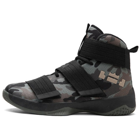 Basketball Lebron Soldier Shoes Breathable Men Ankle Boots Sneakers Athletic Shoes