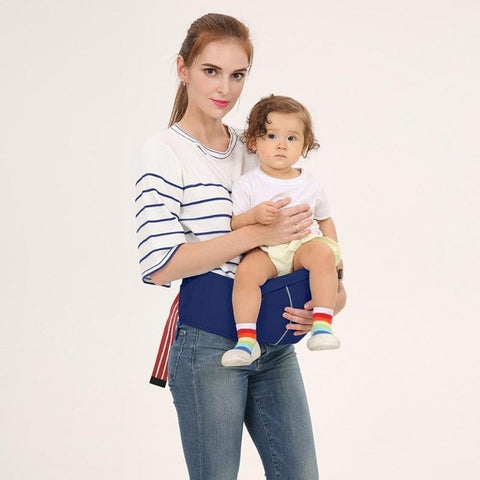 3 in 1 Multifunctional Waist Stool Breathable Baby Carrier Backpacks Prevent O-Type Legs Toddlers Ergonomic Lap Strap Hip-seat