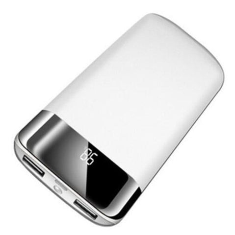 30000mah Power Bank External Battery  2 USB LED Power bank Portable Mobile phone Charger
