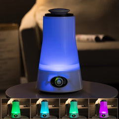 2.5L Aroma Ultrasonic Humidifier Essential Oil Diffuser LED Light
