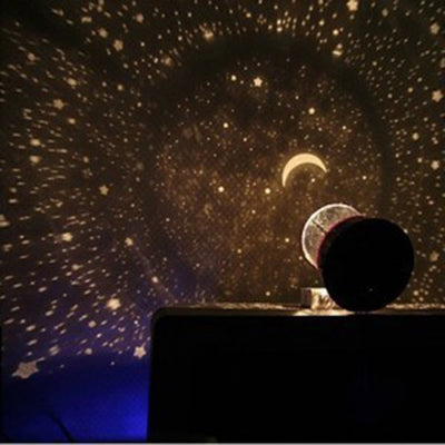 Projector Night Light Sky Star Moon Master Children Home Lamp