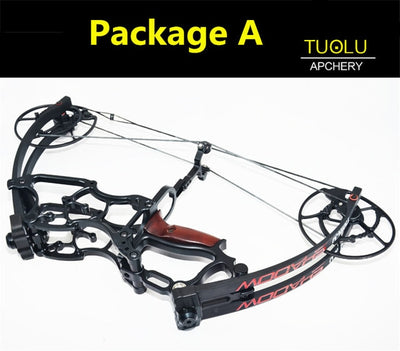 Compound bow  40-70Lbs car hunting bow short axis triangle bow shot fish hunting fish game bow Outdoor professional hunting