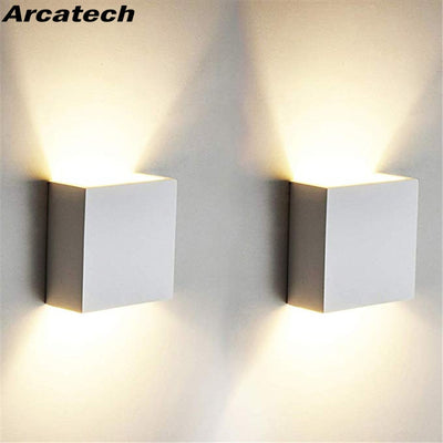 Cube COB LED Indoor Lighting Wall Lamp Modern Home Lighting Decoration Sconce Aluminum Lamp