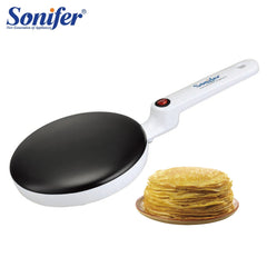 Electric Crepe Maker Pizza Pancake Machine Non-Stick Griddle Baking Pan Cake Machine