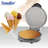 Image of Electric Egg Roll Maker Crispy Omelet Mold Crepe Baking Pan Pancake Bakeware