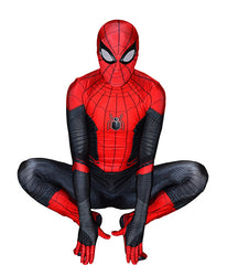Spider-Man Costume Halloween Cosplay Superhero Jumpsuit