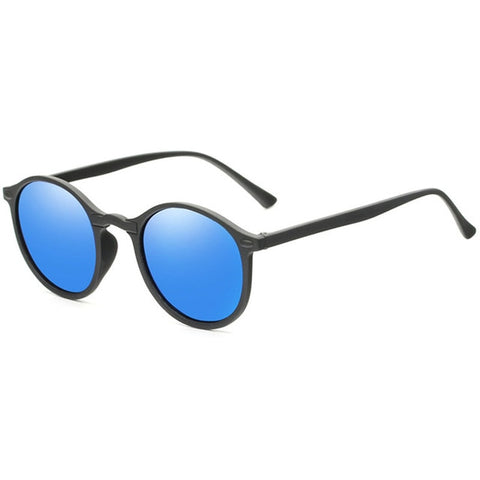 Fashion Round Polarized Sunglasses Retro Men Eyeglasses Brand Design Women Shades Sun Glasses UV400