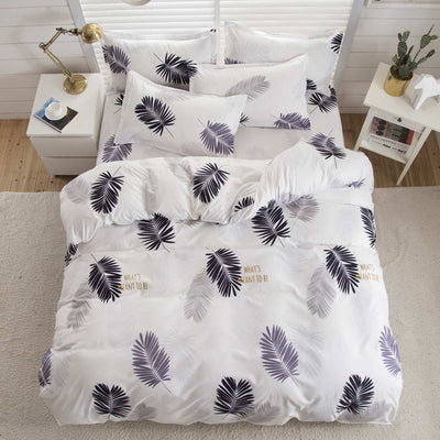 Fashion 2019 bedding sets bed linen duvet cover flat sheet Bedding Set Winter Full King Single Queen,bed set