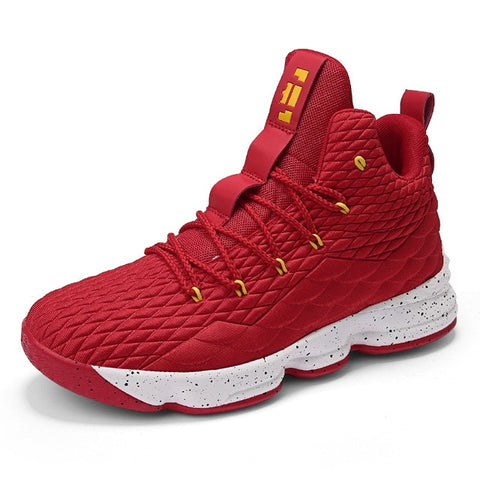 Cheap high top lebron james basketball shoes