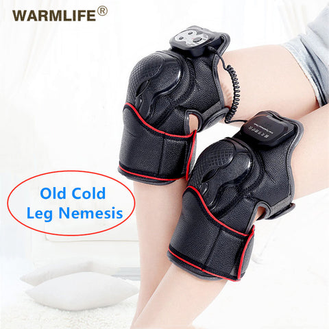 Knee Joint Rheumatoid Arthritis Physiotherapy Instrument Electric Magnetic Vibration Heating Massage
