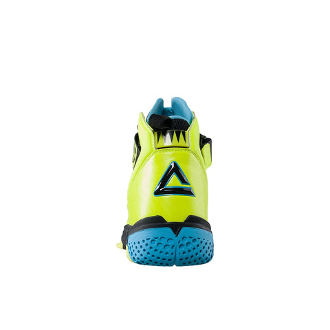 Cool Lime Green Lebron Basketball Shoes Ankle Protector Impact Resistant Sneakers