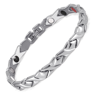 stainless steel Letter shape power energy health bracelet