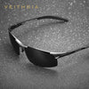 VEITHDIA Brand Designer Aluminum Mens Sunglasses Polarized Sun glasses