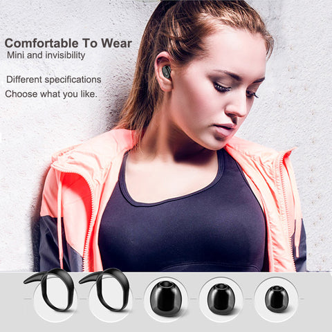 Bluetooth Headset Wireless Earphones Sport Earbuds Bluetooth Wireless Headphones With Charging Box For Phone