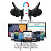 Image of Bluetooth Headset Sport Stereo Magnetic Bluetooth Earphone Auriculars With Microphone For Phone