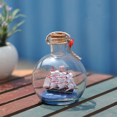 Boat in a Bottle Ship in a Bottle model Gift