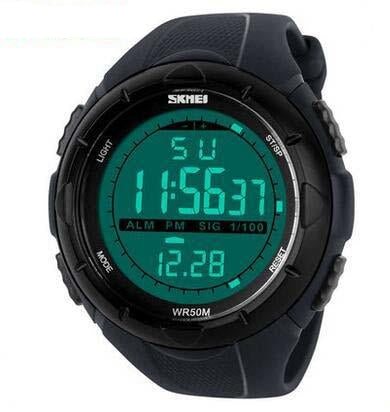 LED Digital Mens Military Watch Men Sports Watches