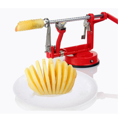 Stainless Steel 3 in 1 Apple Peeler Cutting Fast Fruit Slicing Creative Home Kitchen