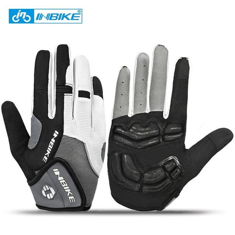 Full Finger Touch Screen Cycling Gloves MTB Bike Bicycle Gloves