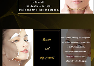 Fulljion Six Peptides Pure Collagen   Acid Anti-Wrinkle Anti Aging Face Lift Serum