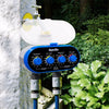 Ball Valve Electronic Automatic Watering Two Outlet Four Dials  Water Timer