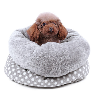 Foldable Cat Cave House Cat Kitten Bed Soft Dog House Cat Dogs Home Shape