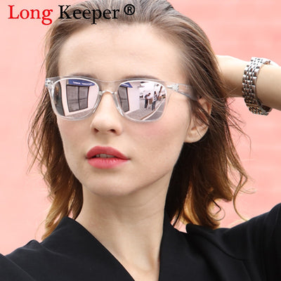 Red, Blue UV400 Mirror Reflective Sunglasses
