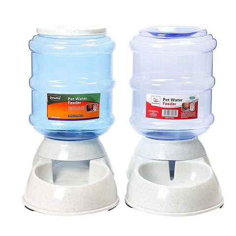 Cats Dogs Automatic Pet Feeder Feeding Bottle Pets 3.5L