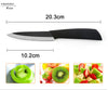 "Image of Top quality  Zirconia black blade 3"" 4"" 5"" 6"" inch + Peeler + covers ceramic knife set"