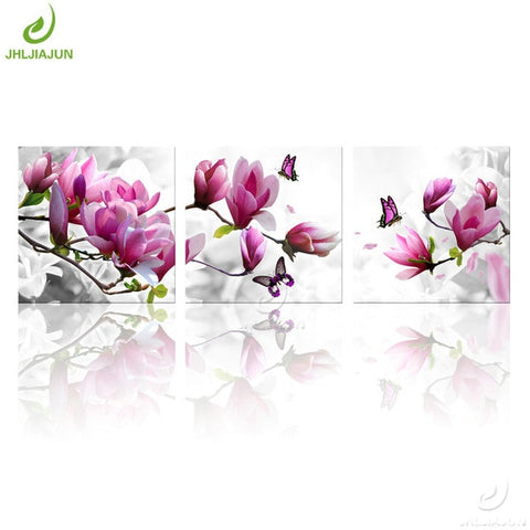 Green Orchid Picture Prints Canvas Painting Wall For Living room