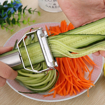kitchen tools Stainless Steel Multi-purpose Vegetable Peeler&Julienne Cutter