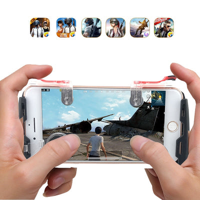 New Mobile Controller Trigger Game Fire Button Phone Joystick For iPhone And  Android