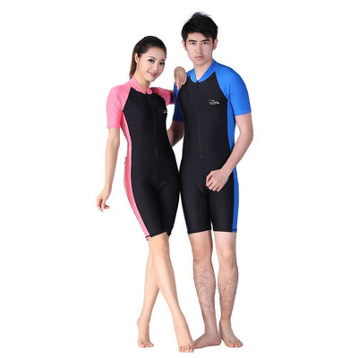 Lycra Wetsuit Stinger Wet Suits Diving Skin For Men Or Women One-piece Short Sleeve